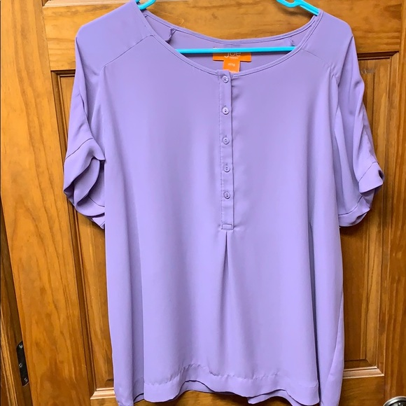 Joe Fresh Tops - Short sleeve purple top
